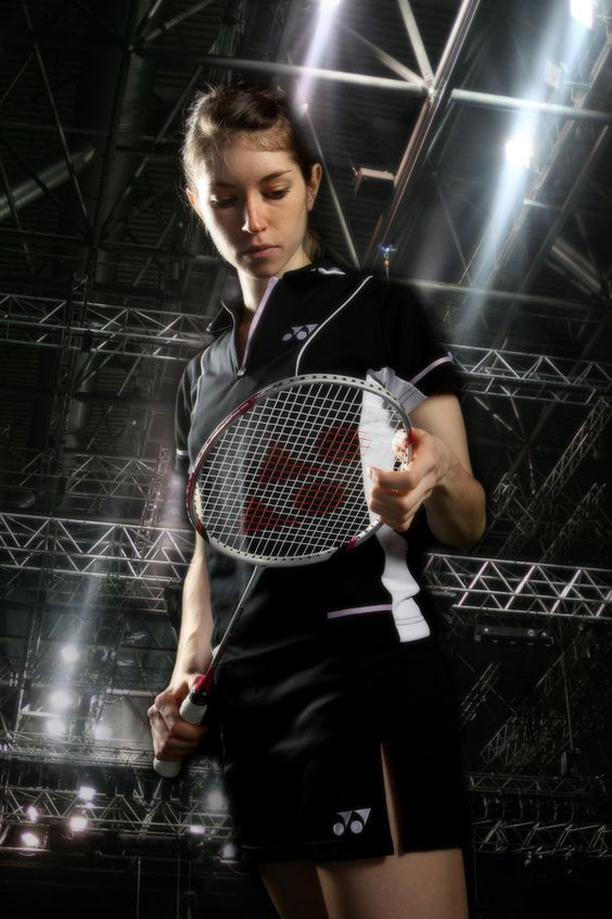 English badminton player Heather Olver http://www.badmintonskills.net/