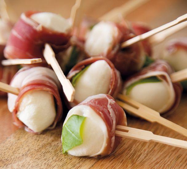 Bocconcini Prosciutto Bites