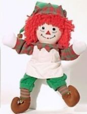 Raggedy Andy Christmas Elf Doll From the Raggedy Ann and Andy Museum. Free Deliv