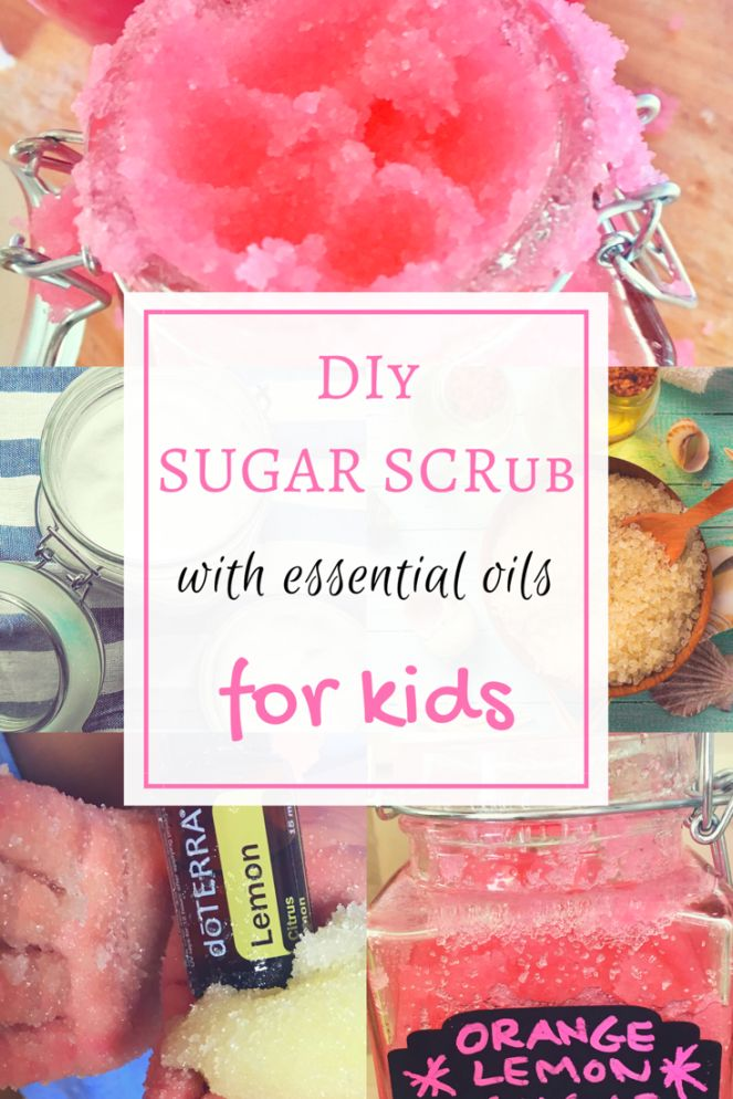 Make homemade sugar scrub with your kids using this easy and simple recipe. Incorporate essential oils to create an aromatic scrub with invigorating and cleansing properties. Your kids will love helping out, as this kid friendly project uses edible, natural and safe ingredients.