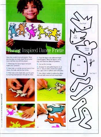 classroom collective • Keith Haring inspired lesson
