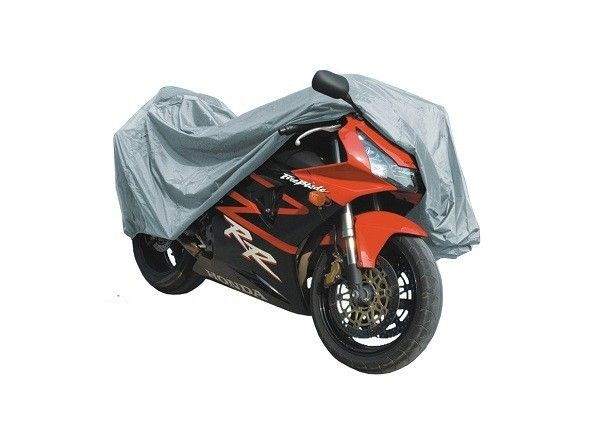 MCS Medium Silver Motorcycle Cover