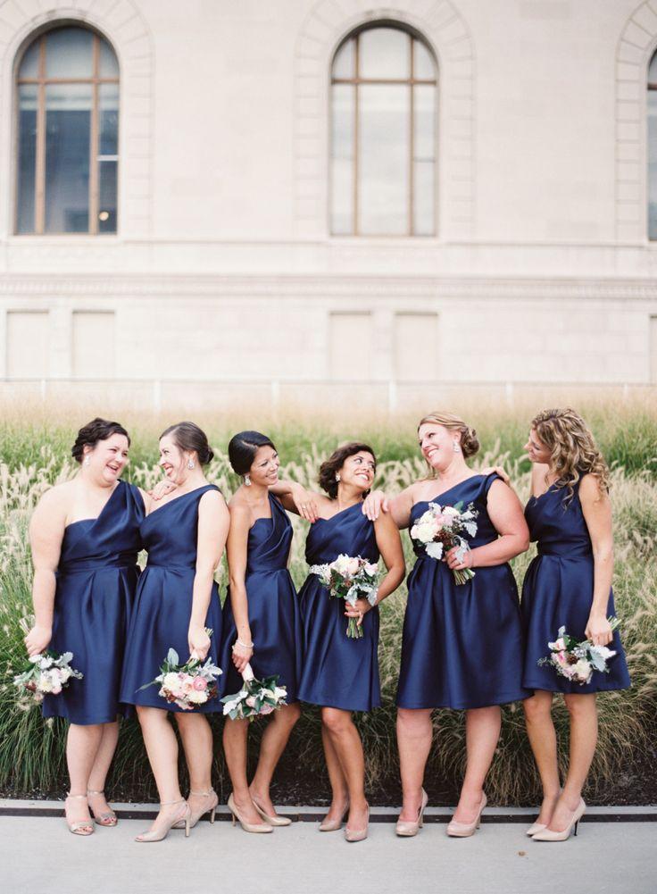 Bridesmaids' Dresses: Lela Rose | Lauren Gabrielle Photography