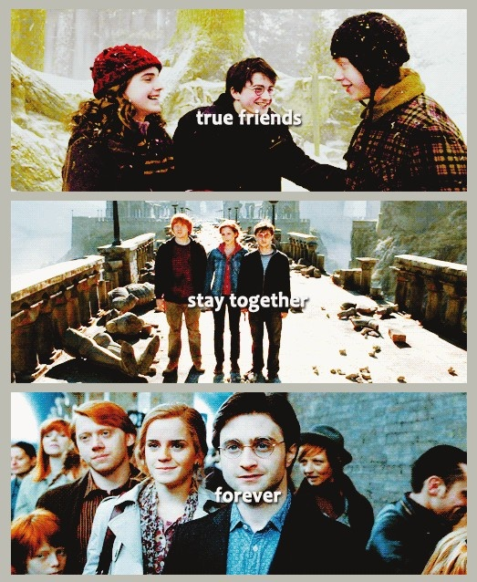 True Friends Stay Together Forever. | Hogwarts School Of ...