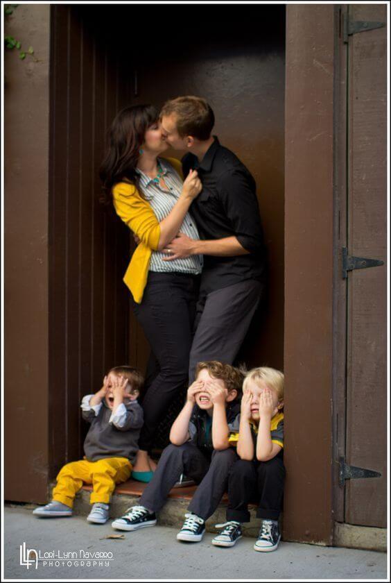 25+Innovative Family Photo Shoot Idea
