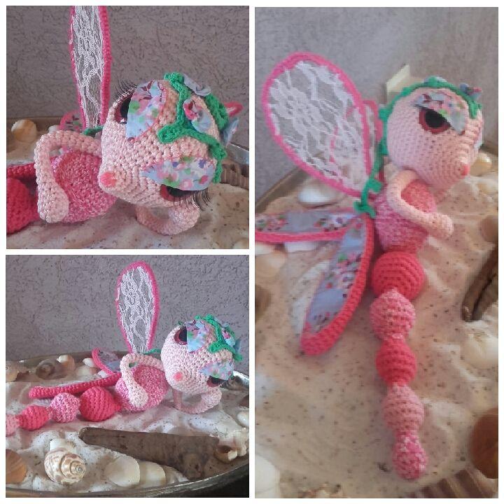 Libelly pink - patroon Esther Emaar