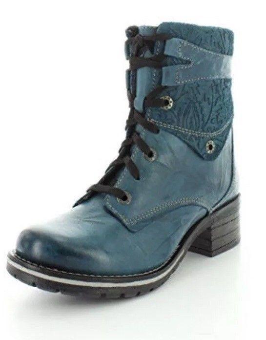 479744541fe0 Teal Embossed DROMEDARIS KARA Boots Womens SZ 9.5 40  fashion  clothing   shoes  accessories  womensshoes  boots (ebay link)