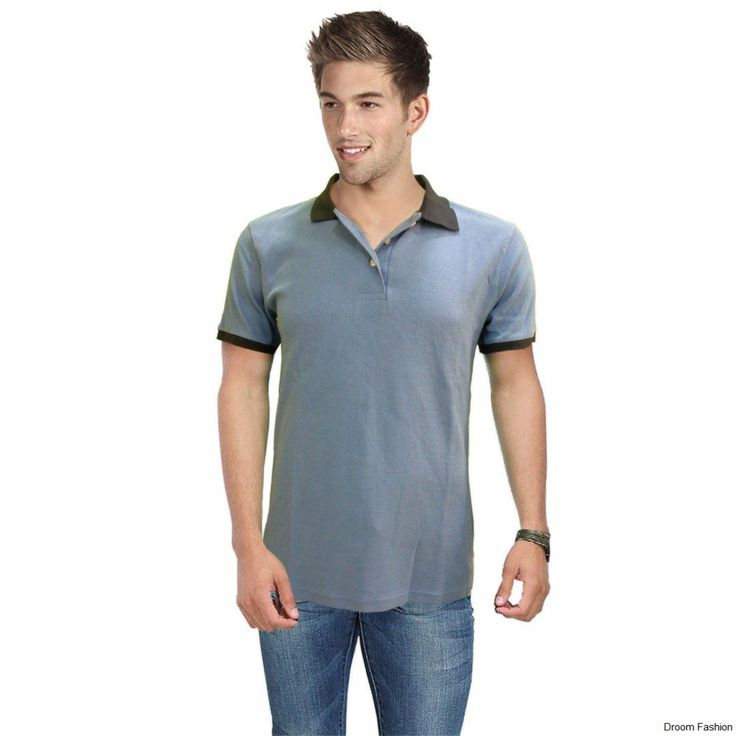 Buy this polo T-shirt by Droom Fashion has been crafted to give you a stylish edge. We recommend you wear this piece with a pair of jeans, a denim jacket and canvas shoes for a college-ready look.