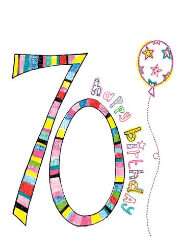 103 best 70th birthday party card images on pinterest 70th 70th birthday sayings card on greeting card 70th birthday paper salad personalised bookmarktalkfo Images
