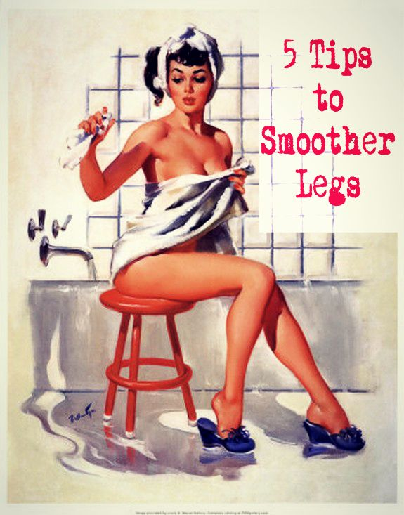 BEAUTY | Oh So Chic - 5 TIPS TO SMOOTHER LEGS
