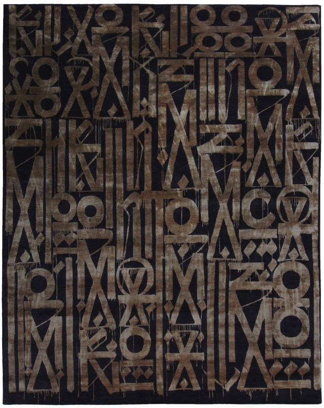 Attractive Limited Edition By RETNA | Marc Phillips Rugs
