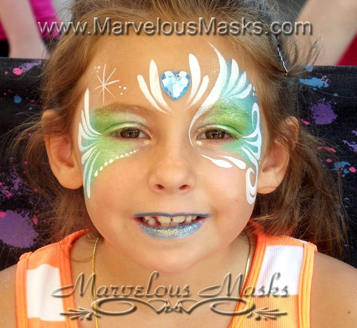 Maquillage pour enfant princesse maquillage enfant - Modele maquillage princesse ...