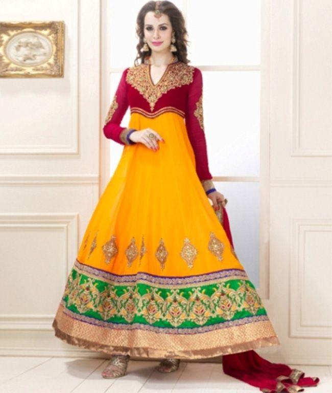 Get latest patterns of Designer Anarkali Suits.....
