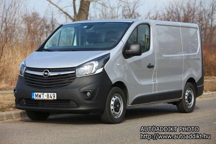Opel Vivaro Van 1.6 CDTI Start/Stop L1H1 2.7t teszt - autoaddikt.hu