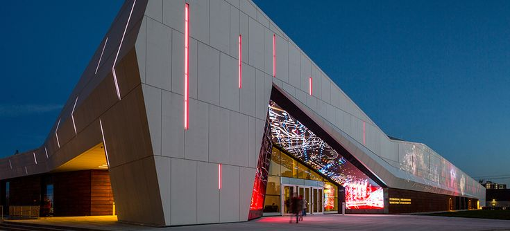 Ceramitex™ by Elemex. Canada Science and Technology Museum in Ottawa, Ontario.