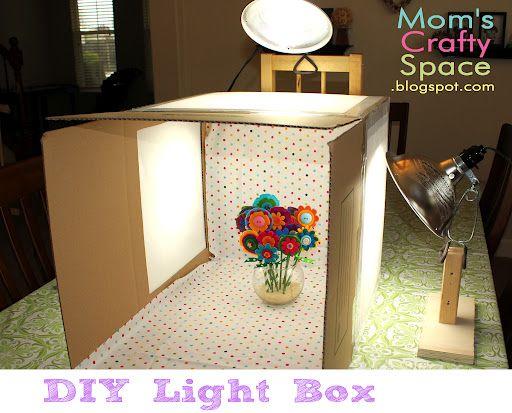 DIY Light Box - Happiness is Homemade