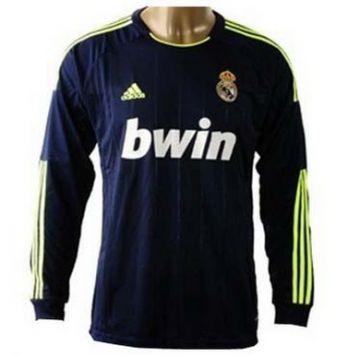 camisetas real madrid manga larga 2013 segunda equipacion http://www.camisetascopadomundo2014.com/