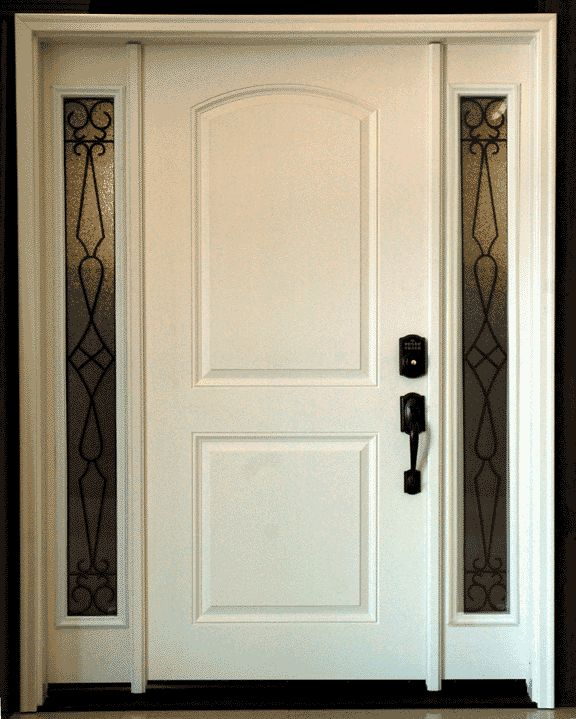 9 best images about front doors on pinterest queen anne for White front door