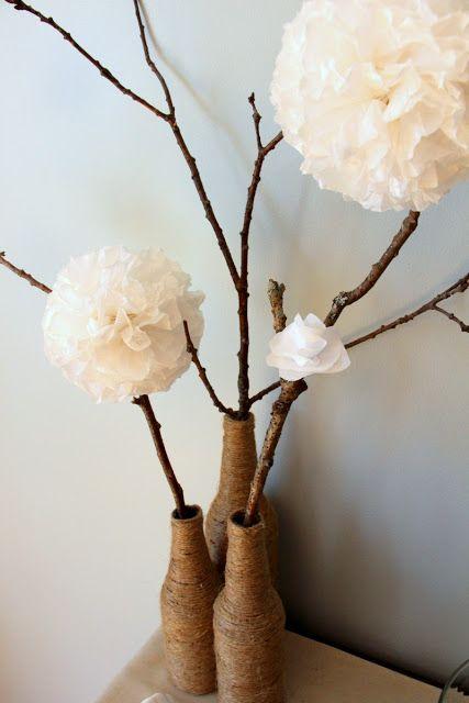Srdce Maine Home: Jarní výzdoba s přírodními prvky textury