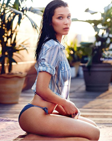 Monday's made better with @bellahadid.