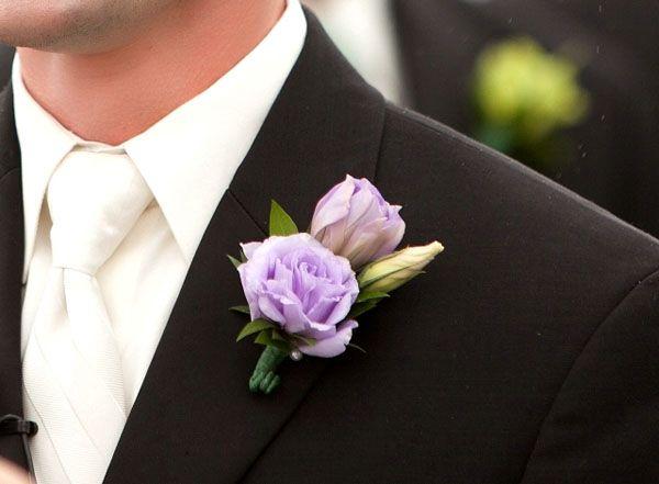 lavender boutonniere - photo #22
