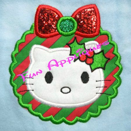 31 best images about embroidery on pinterest heart for Alphabet christmas wreath