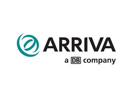 Arriva is a multinational public transport company headquartered in Sunderland, England.[1] It was established in 1938 as T Cowie and through a number of mergers and acquisitions was rebranded Arriva in 1997 and became a subsidiary of Deutsche Bahn in 2010. Arriva operates bus, coach, train, tram and waterbus services in the UK and 14 countries across Europe