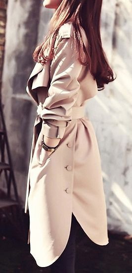 Side button trench