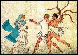 ¡IO, IO, LUPERCALIA!// Ya ido San Valentín almibarado vayamos y azotemos por las calles ebúrneas nalgas de las muchachas vírgenes que no han de serlo más tras de las fiestas. A tal efecto cojamos un carnero en honor del dios Pan y de su falo, también un perro rememorando el hecho de fundación de Roma por la loba que amamantó a gemelos Remo y Rómulo de Rea Silvia, la madre meretrice del lupanar asiento de esta urbe. Tomemos…—…