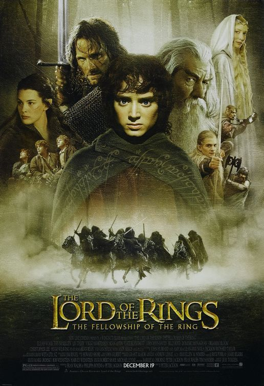 Spent sooooo many hours watching all three Lord of the Ring movies