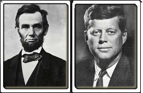 Similarities Between President Abraham Lincoln & President John F Kennedy.....GREAT READING!!!!   http://www.snopes.com/history/american/lincoln-kennedy.asp