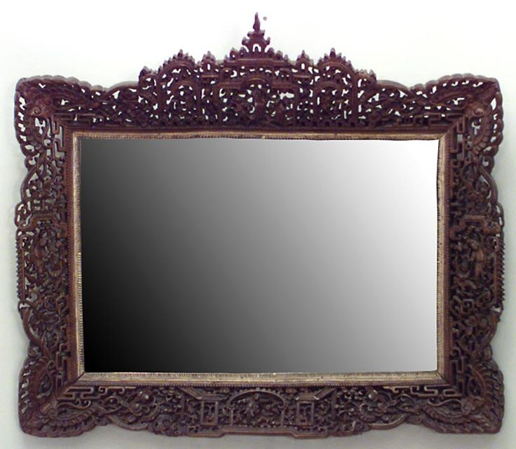 Ass asian style mirrors lei