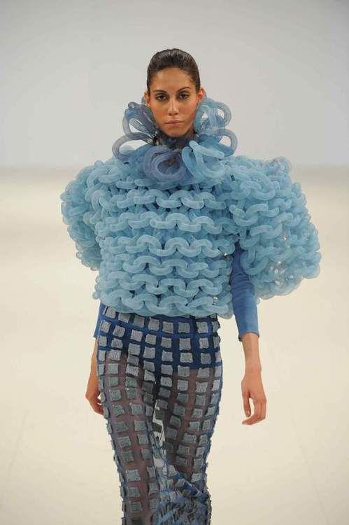 School fashion show England - Hannah Podbury