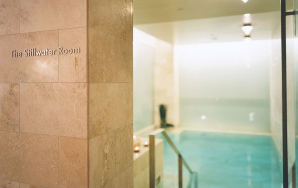 The Stillwater Spa at the Park Hyatt is consistently ranked one of the top spas in Toronto, our version of old money luxury (4 Avenue Road)