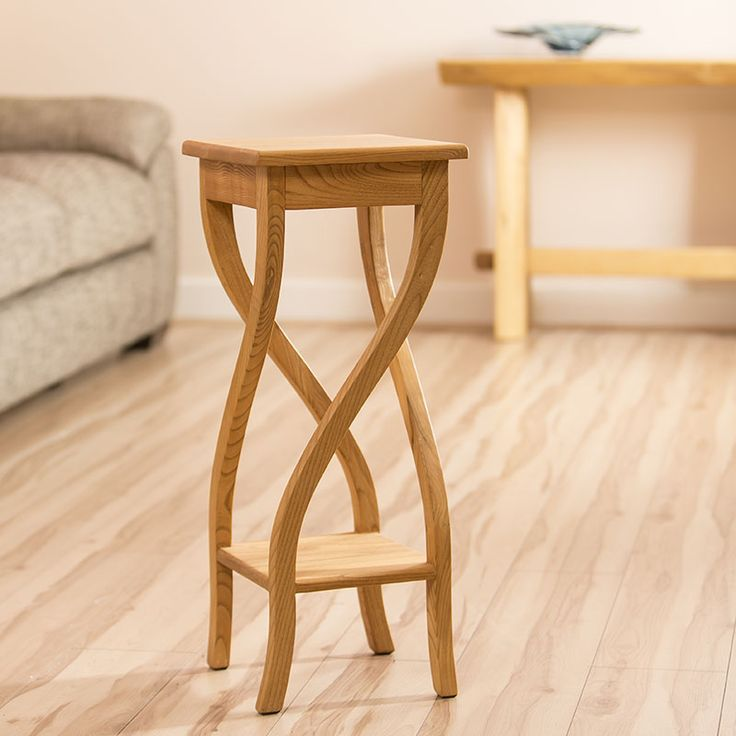 Twisted leg side table