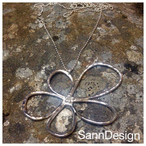 Handmade Silver Flower