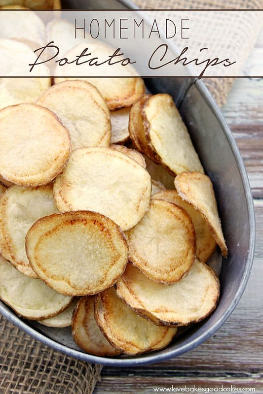 This Homemade Potato Chips recipe is so easy and delicious! A must make recipe!