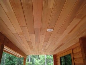 Clear Or Select Tight Knot Cedar Soffit Exterior