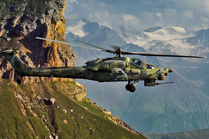Mi-28 in Mountains [OS][1200  800]