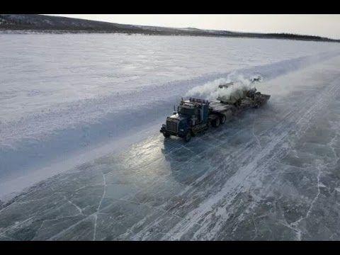 Ice road truckers / Ледяной дороге автотранспортные компании
