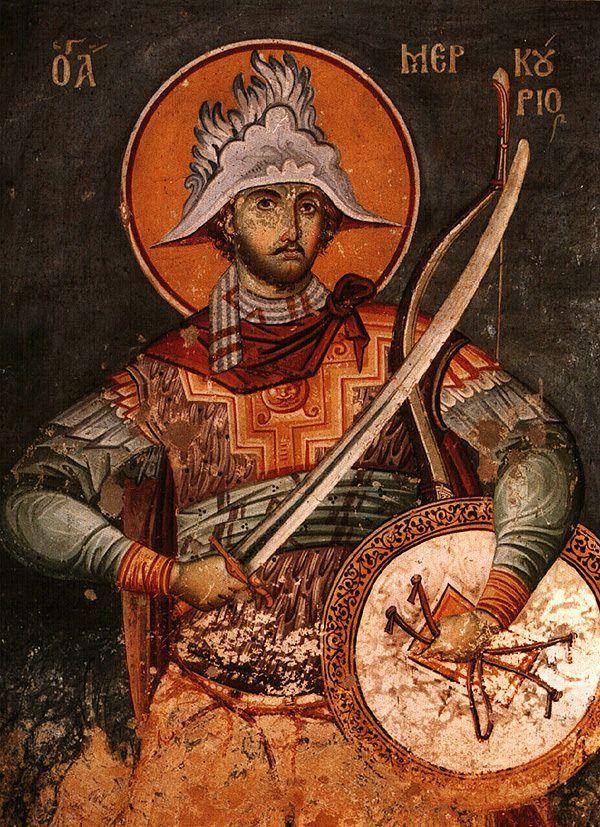 Saint Mercurius the Great Martyr on November 25