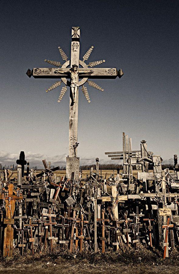 crucifix hill ... sialuliai, lithuania