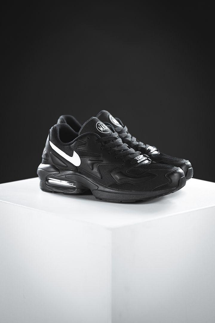 Nike Air Max 2 Light (black) in 2019 | Nike air max 2, Air