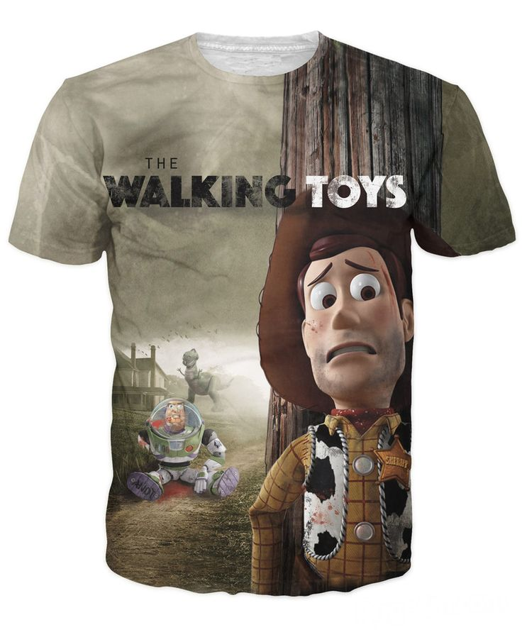 >> Click to Buy << The Walking Toys T-Shirt Toy Story Sherif Woody Cartoon Buzz Lightyear 3D NWA Nicolas Cage Beyonce T Shirt Top Tee For Women Men #Affiliate