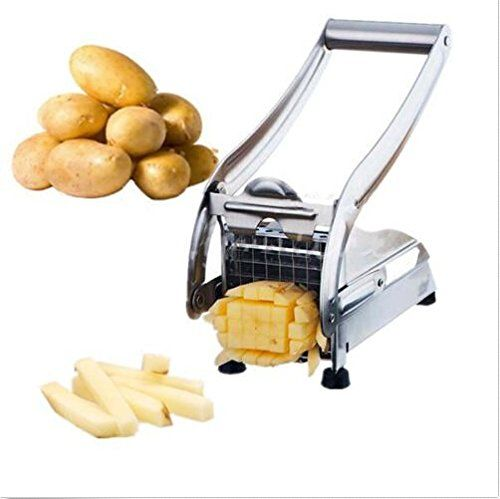 Best Kitchen Faucet | Stainless Steel French Home Fry Fries Potato Chips Strip Cutting Cutter Machine Maker Slicer *** To view further for this item, visit the image link. Note:It is Affiliate Link to Amazon.