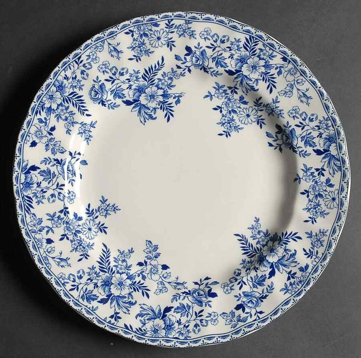 Johnson Brothers Devon Cottage Dinner Plate & 1044 best Blue u0026 White China images on Pinterest | China painting ...