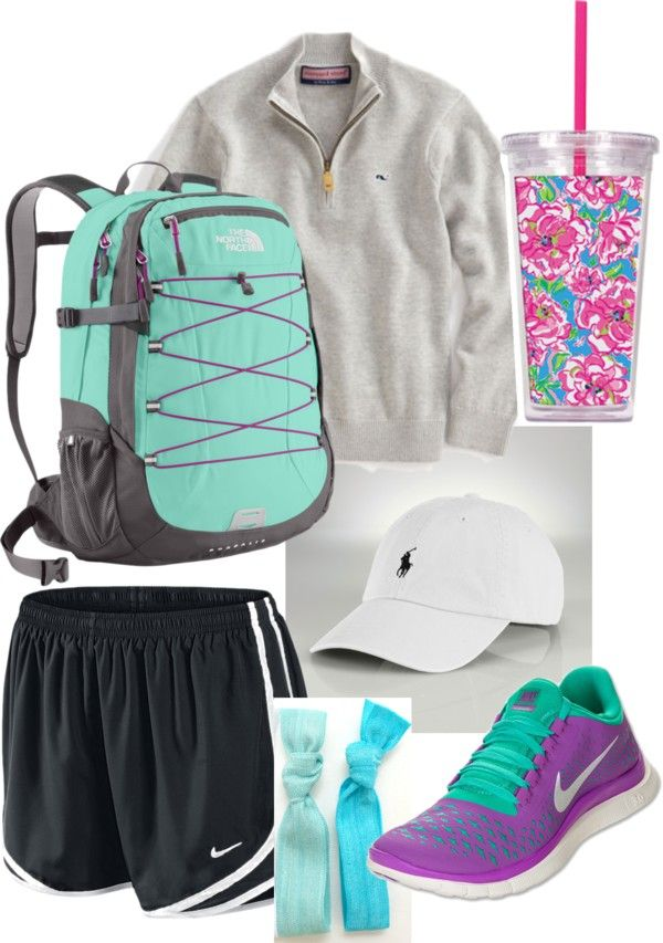 """school prep."" by abbiebogar ❤ liked on Polyvore. @michellewiehoff -this is you"