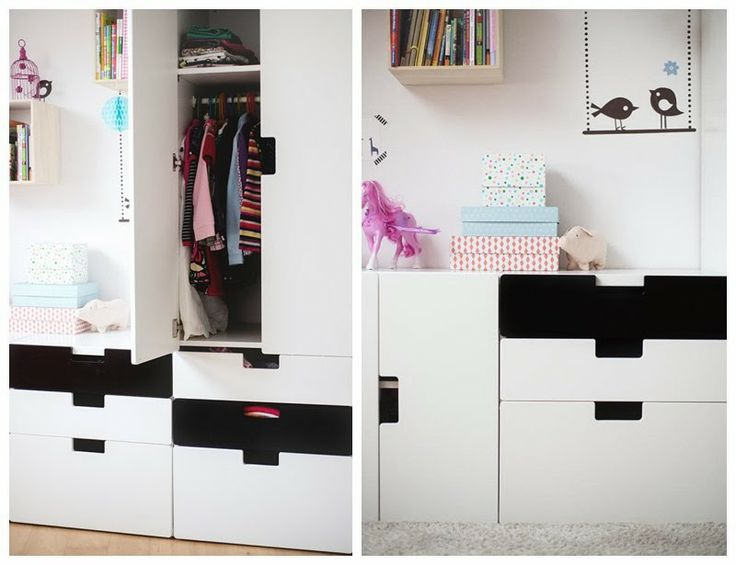 Ikea Stuva Black White Boys Shared Bedroom Ideas