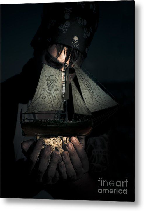 Pirate Metal Print featuring the photograph Ocean Treasure by Jorgo Photography - Wall Art Gallery