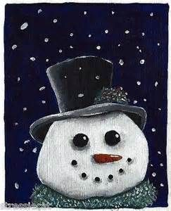 christmass acrylic painting - - Yahoo Image Search Results